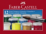 Farby szkolne FABER CASTELL Tempera