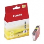 Tusz Canon CLI8Y yellow | 13ml | iP3300/4200/4300/5200/5300/6600/6700/MP500/600/