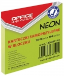 NOTES  SAMOP. 76x76 OFFICE PROD.100 K ZIEL. NEON