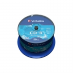 Verbatim CD-R 52x 700MB 50p cake box Extra Protection