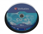 Verbatim CD-R 52x 700MB 10p cake box DataLife