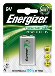Akumulatorki POWER PLUS Energizer, HR22 / E / 9 V / 175 mAh